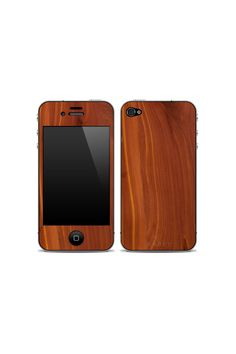 iPhone 4/4S Wooden Skin Cedar