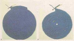 Tricot e Croche Passo a Passo Receitas: Como fazer: Círculos em ponto alto no crochê