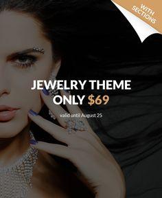 Jewelry Responsive Shopify Theme #64465