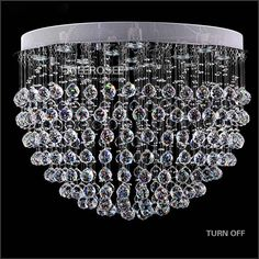Lange Spiral Crystal Taklys Clear Crystal Lysarmatur Lustres Lamp for Trapper