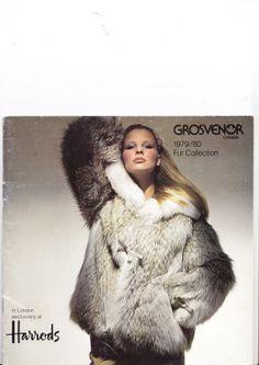 Grosvenor Canada 1979 80 Fur Collection Furs Pelze | eBay