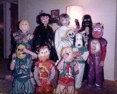 Costumes from the 80's