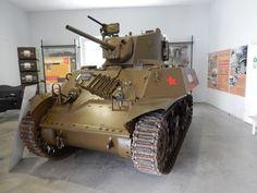 American Stuart tank which equipped some partizan units at the end of the Second World War Park vojaške zgodovine, Pivka, Slovenija