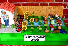 Plants vs Zombies cake | Flickr - Photo Sharing!