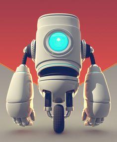 FlavioMontiel.com / Robot03