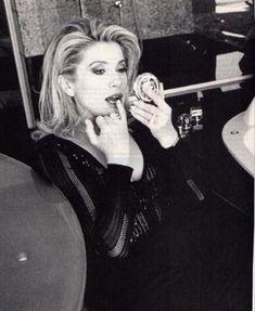 Catherine Deneuve by Ellen von Unwerth, Vogue 1995