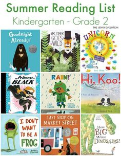 Don't let your children's reading skills dwindle during the summer slump. This Summer Reading List for Early Elementary will keep them engaged. Preschool Books, Book Activities, Summer Activities, Kindergarten Books, Summer Reading Lists, Kids Reading, Summer Books, Best Children Books, Childrens Books