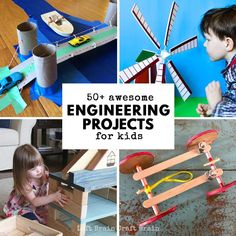 Construction Projects For Kids - 50 Awesome Engineering Projects For Kids Left Brain Craft Brain 30 Totally Awesome Building Projects For Kids 50 Awesome Engineering Projects For Kids. Teenage Engineering, Engineering Memes, Marine Engineering, Engineering Projects, Science Projects, Engineering Cake, Stem Projects For Kids, Engineering Technology, Energy Technology