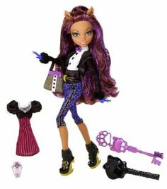 Monster High Sweet 1600 Clawdeen Wolf Doll by Mattel. $28.59. Draculaura is turning 1600 and is throwing the party of the millennium. Includes exclusive skeleton key invite, scary cool outfit, and a birthday present. Collect all your favorite Monster High Sweet 1600 dolls. Fans of Monster High won't wait to get their claws on these dolls. All the ghoul kids will be there in their most fabulous party fashions. From the Manufacturer                Monster High Sweet 16...