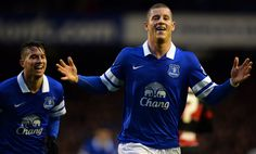 Everton Football Club midfielder Ross Barkley