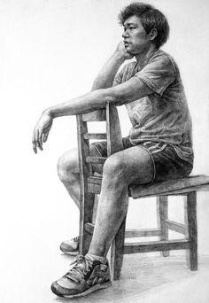 후아유 미술학원 (목동) / 미대입시, 예중, 예고, 미대편입, 임용미술, 취미미술  *상담: 02-6032-0034 Human Figure Sketches, Human Sketch, Human Figure Drawing, Figure Sketching, Life Drawing, Drawing Drawing, Cool Art Drawings, Realistic Drawings, Art Sketches