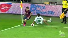 Messi humilla a sus rivales dejandolos en el suelo - YouTube
