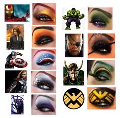 The Avengers Makeup! THIS IS SO COOL!!!!