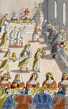 Utopia/ Thomas More/ The Folio Society, 1965. Artist: Edward Bawden