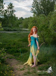 Art Nouveau Disney Princesses Become A Gorgeous Group Cosplay