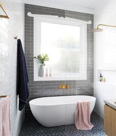 New Ideas Bathroom Tub Shower Combo Glass Walls Bathroom Tub Shower, Tub Shower Combo, Bathroom Renos, Bathroom Ideas, Bath Tub, Master Bathroom, 1950s Bathroom, Cozy Bathroom, Stone Bathroom
