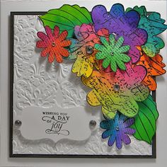 Personal Touch Scrapbooking: Dylusions Spray Ink