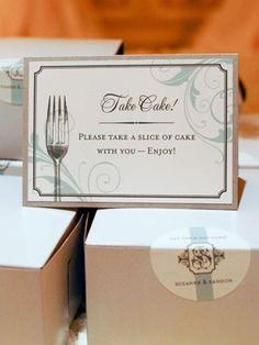 pre filled wedding cake boxes