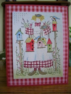 The Birdie Lady by stampin'nana - Cards and Paper Crafts at Splitcoaststampers
