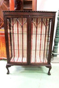 Paire de chaises victorienne xix me en acajou antiquit s for Meuble anglais acajou