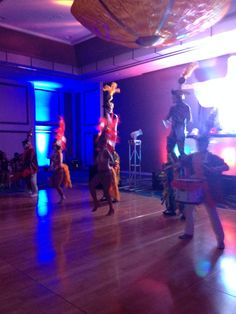 Rio inspired party Hora Loca performance