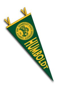 Product: Humboldt State University Pennant