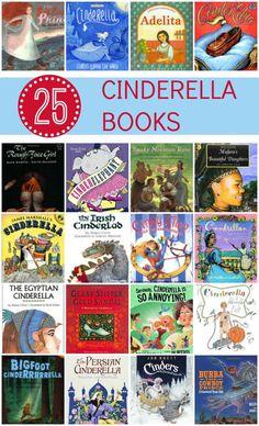 25 Cinderella Books for Kids