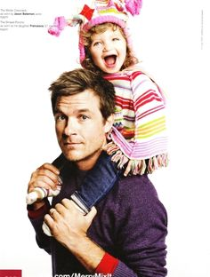 And, happens to be a great Dad!  Jason and Francesca in GAP ad - Jason Bateman 605x800
