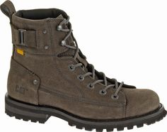 #CatFootwear Men's Brent in Anthracite Suede, #AW14