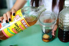 Any small container with a teaspoon of cider vinegar, 2 tablespoons of water, and a drop of two of dish soap will attract and drown fruit flies. To kill off the rest of the population, try pouring a cup or two of warm/hot vinegar (can be diluted with half water) down your kitchen & bathroom drains.