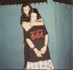 Marilyn Manson and then girlfriend Missi Romero