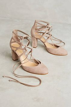 b3d735124a75d2 Schutz Arya Lace-Up Pumps Shoes Heels Wedges