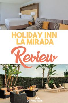 La Mirada is a city about eight miles from Disneyland Resort in Anaheim, and two miles from Knott's Berry Farm in Buena Park. This makes it a great hotel for families who plan to experience both theme parks while on a C. Best Hotels Near Disneyland, Disneyland Vacation, Vacation Resorts, Dream Vacations, Get Away Today, Family Friendly Resorts, Great Hotel, House Restaurant, Vacation Packages