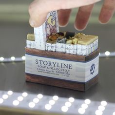 Storyline Artisan Handmade Soap Sampler by Parousia and Old Factory