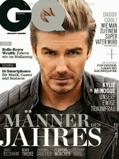GQ - man of the year - David Beckham