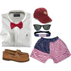 """frat"" by the-southern-prep on Polyvore"
