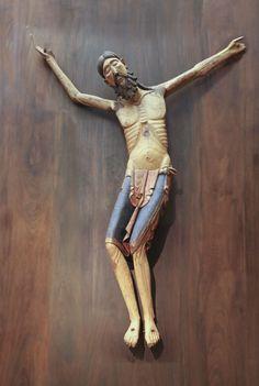 Cristo románico, siglo XIII. Monasterio de San Pedro de Siresa (Huesca)