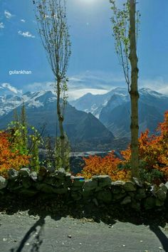 Hunza valley Gilgit Baltistan Pakistan