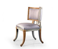 SWEDISH NEOCLASSICAL STYLE SIDE CHAIR - Quatrain Side Chairs, Dining Chairs, Neoclassical, Couch, Furniture, Home Decor, Style, Dinner Chairs, Homemade Home Decor