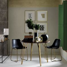 dial dining table  | CB2