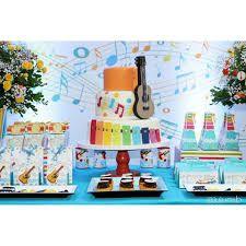 Resultado de imagem para festa infantil instrumentos musicais Alice, Baby First Birthday, First Birthdays, Sons, Party, Bb, Cakes, Early Education, Kids Part