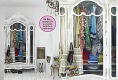 I so want a fab vintage wardrobe like this