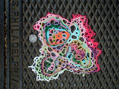@Ann Flanigan Marie Campanelli - check this out - free form crochet!    Fresh Shop: Silverspace