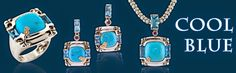 Bellarri Turquoise and Silver Jewelry - available at McGee & Company Fine Jewelers. 317.882.0500
