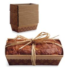 Paper Loaf Pans for Baked Bread Gifts | Sur La Table