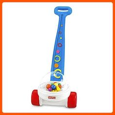 Fisher-Price Brilliant Basics Corn Popper Baby Toddler Children Game Push Toy BEST - Toys for little kids (*Amazon Partner-Link)