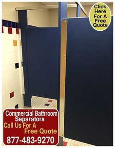Commercial Bathroom Stall Dividers Do More Than Serve A Privacy - Commercial bathroom door hinges