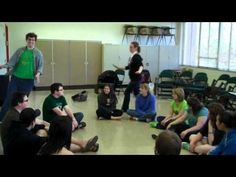 """The pinner said, """"Charlie Over the Ocean"""" is a fun music circle game in the format of Duck-Duck-Goose, the leader walks around the circle singing the song while the group echos. Great way to hear individual voices without the pressure. """"singing alone and with others"""" standard is covered here. This youtube channel has many classic folk-song elementary music games."""