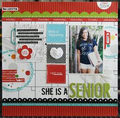 She Is A Senior - mid-release collection, Classic Calendars, from Bella Blvd