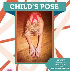 One of the first things I do every morning is stretch, and child's pose is one of my favorites. Click picture to find different variations that are great for your alignment and stress levels!